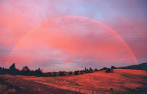 Rainbow Sunset by Steve Jurvetson