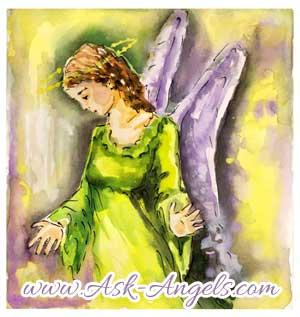 angel healing reading