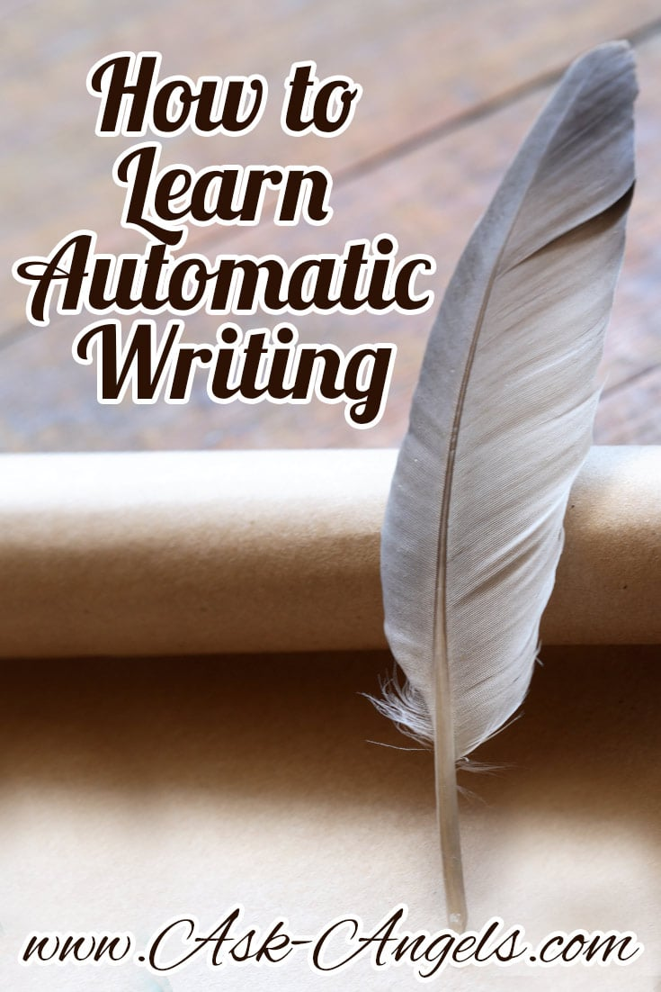 How to Learn Automatic Writing - ask-angels.com