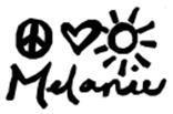 Melanie's Signature
