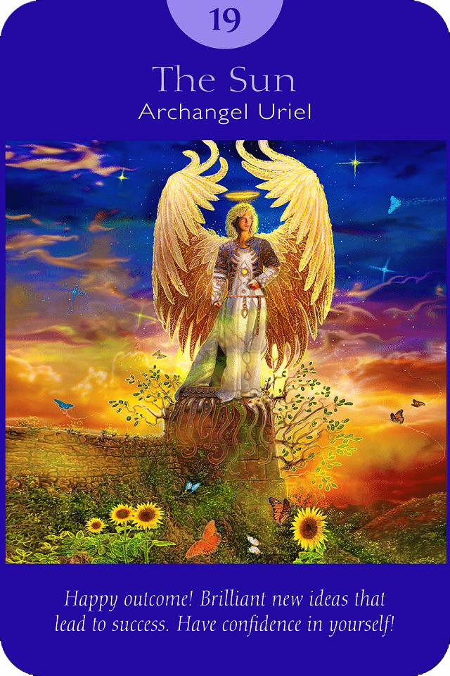 The Sun - Angel Tarot