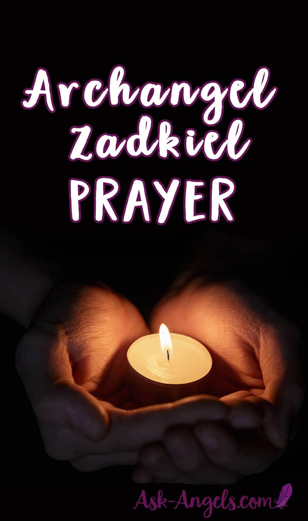 Archangel Zadkiel Prayer