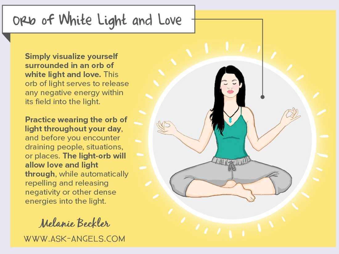 Orb of White Light