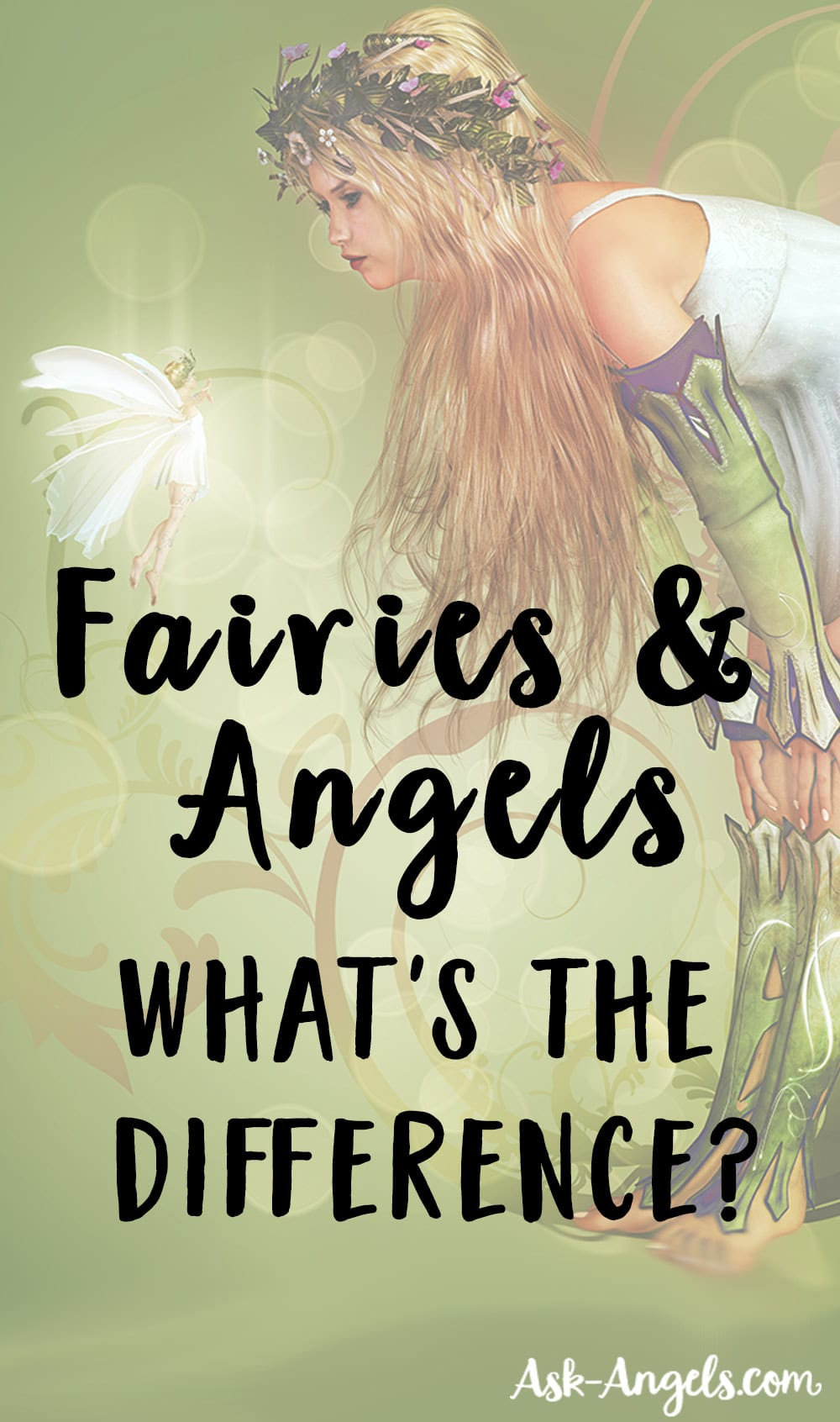 Fairies and Angels What's The Difference?
