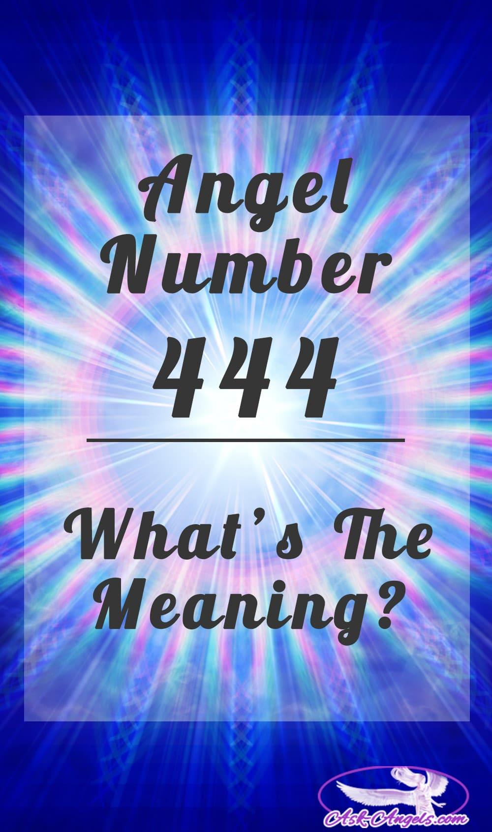 Angel number 1959 Meaning 444 love meaning