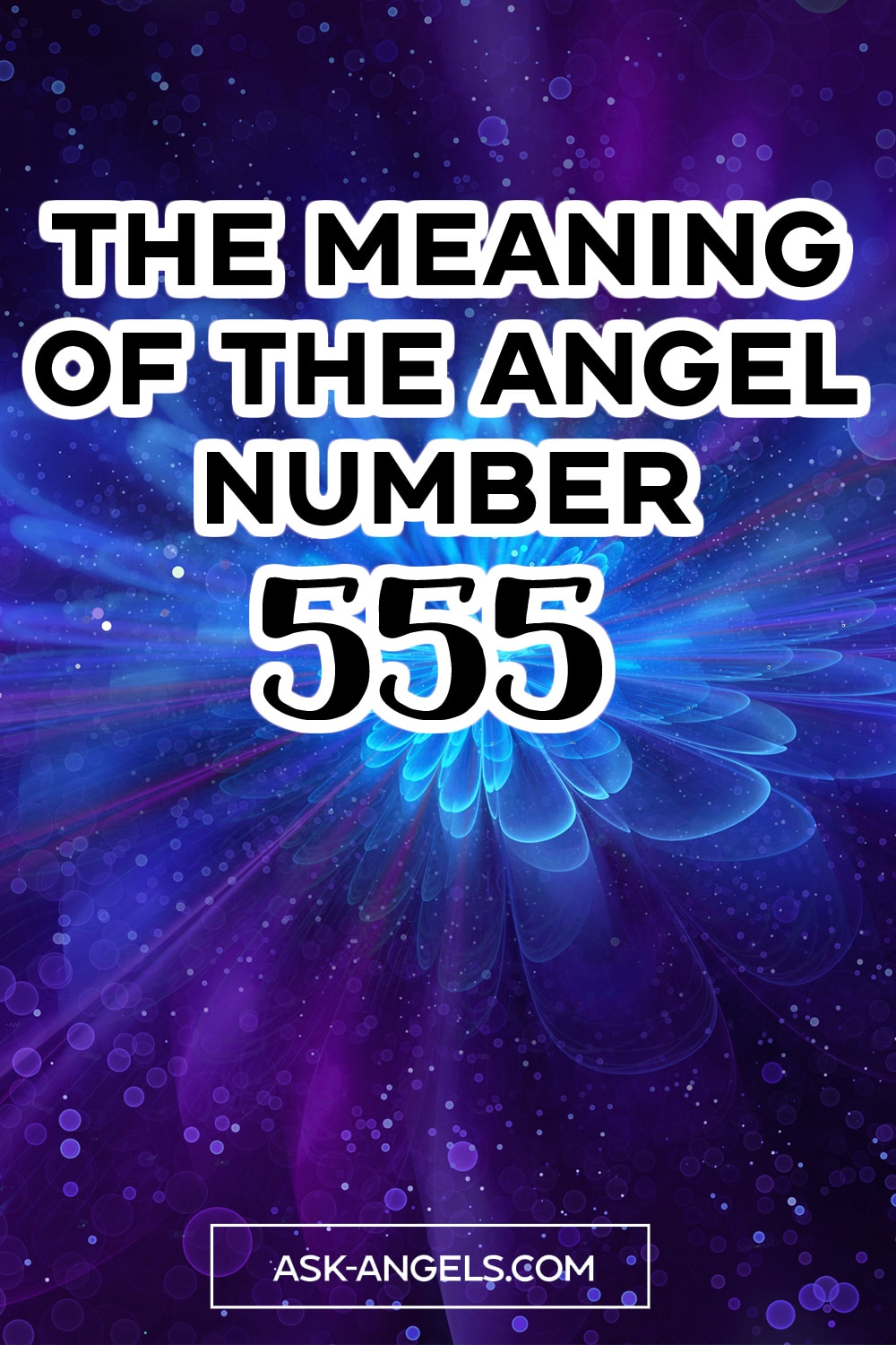 Meaning of the Angel number 555