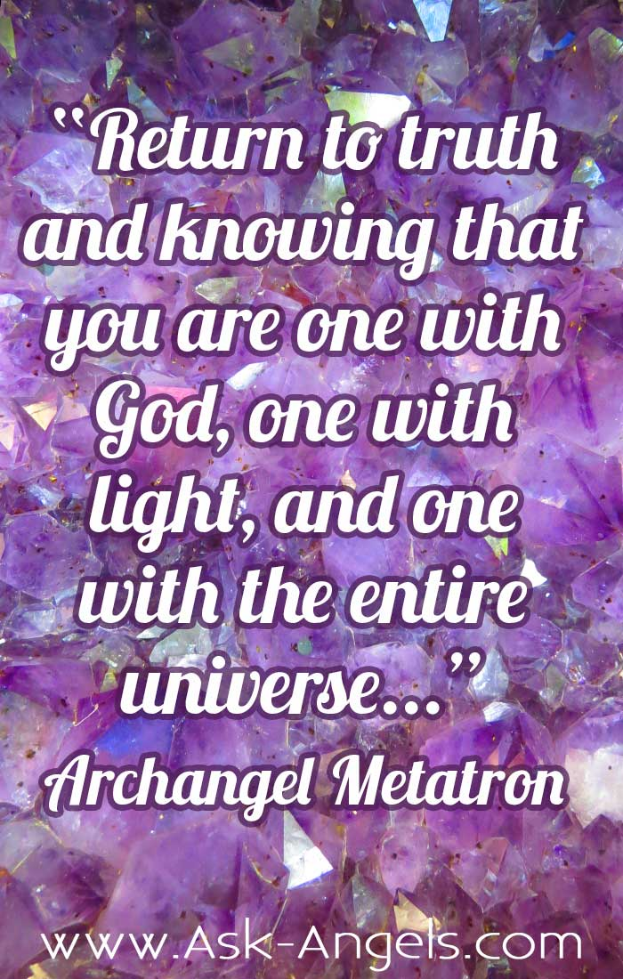 An Important Reminder from Archangel Metatron