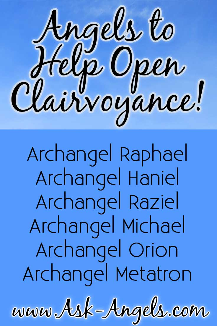 Angels to Open Clairvoyance