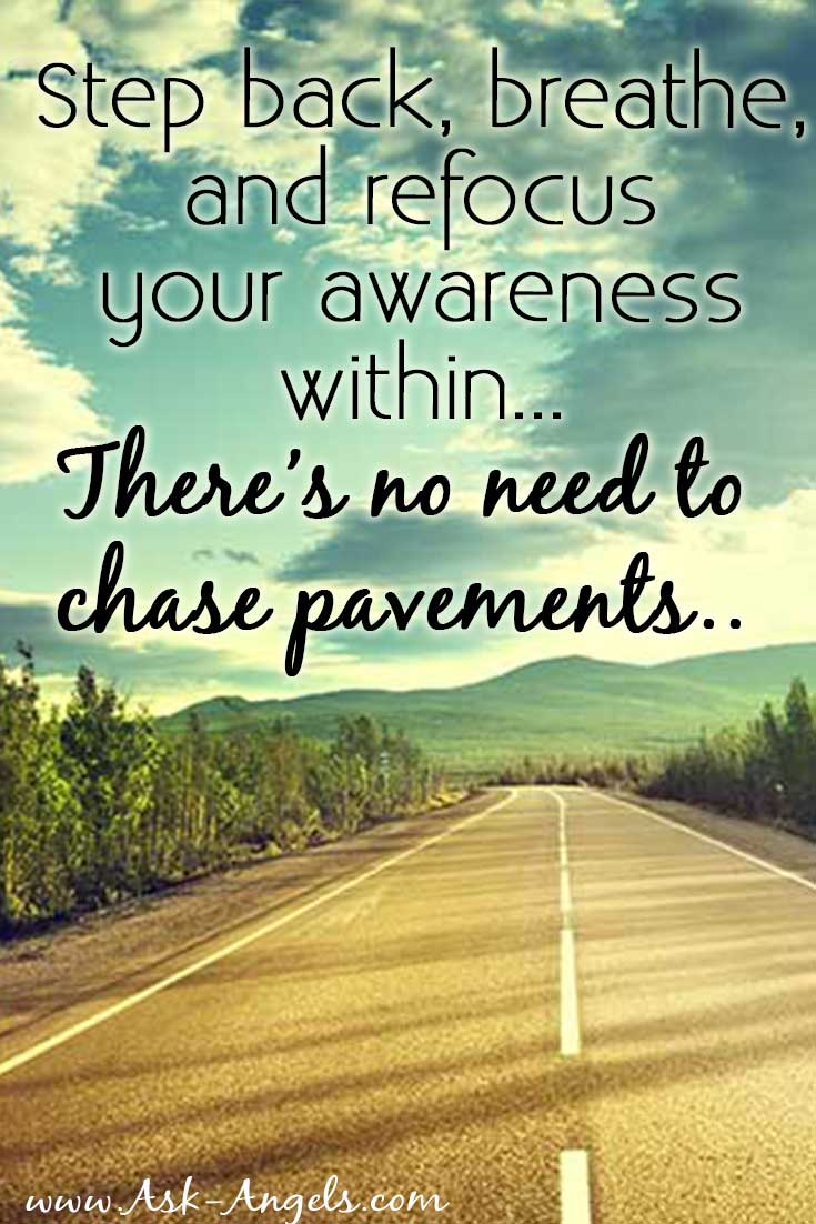 Stop Chasing Pavements