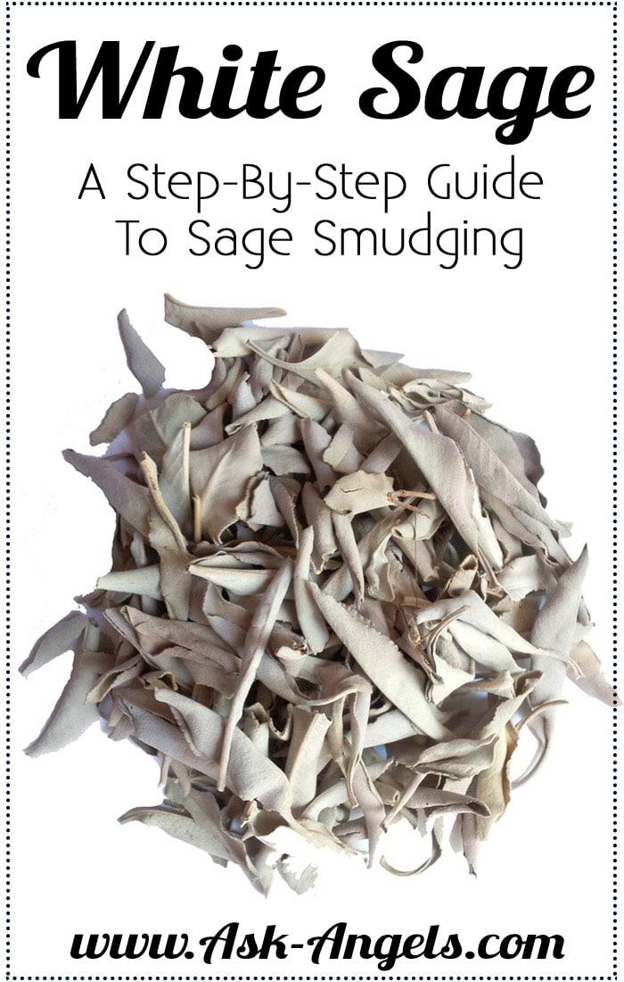 White Sage Smudging