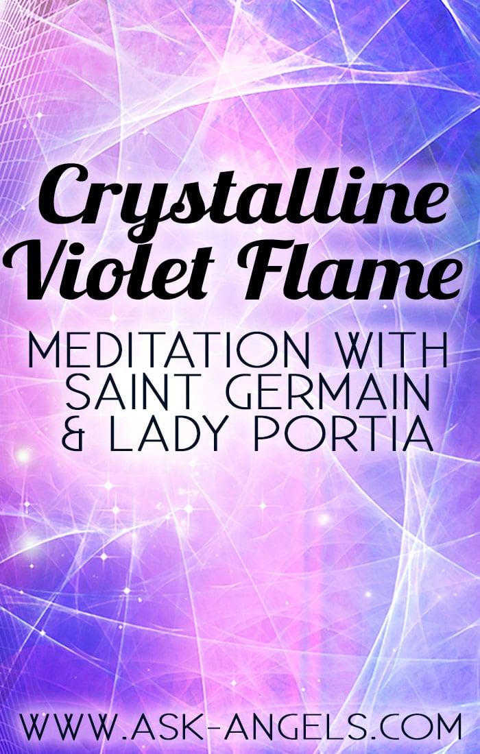 Crystalline Violet Flame