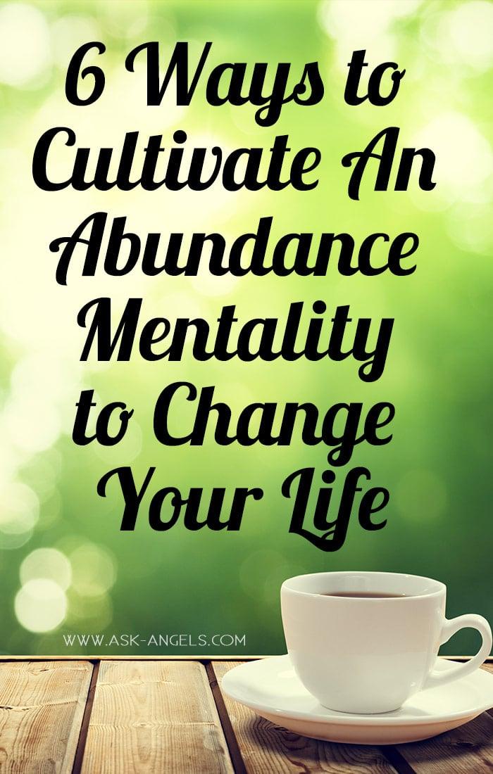Cultivate An Abundance Mentality