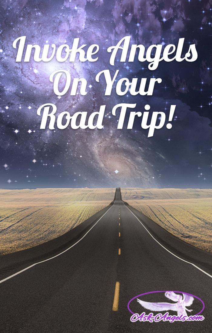 Invoke Angels While You Travel