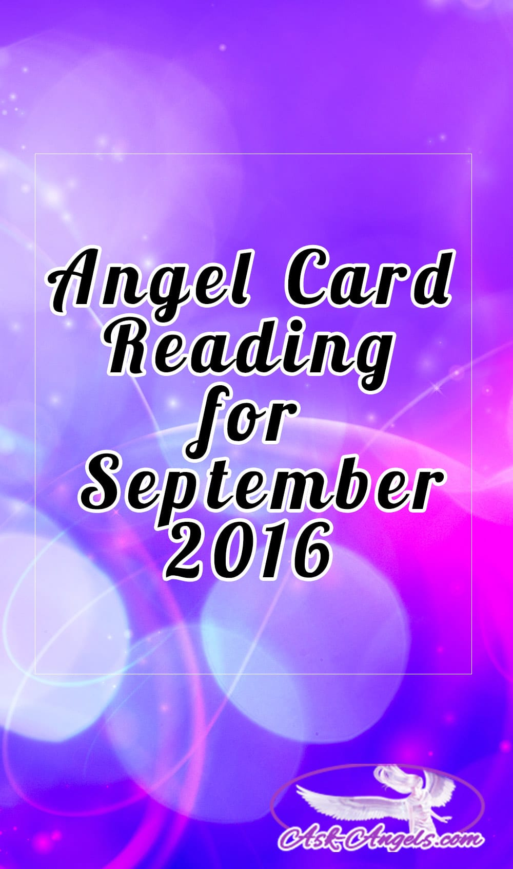 September 2016 Angel Card Reading