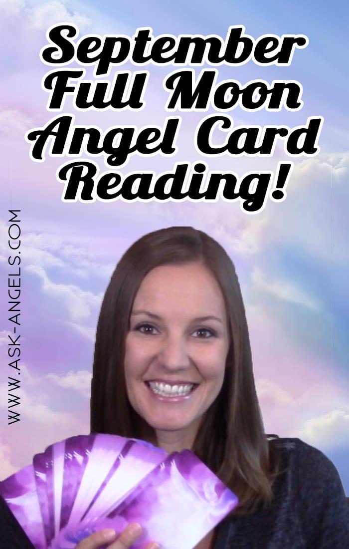 September Full Moon Angel Card Reading