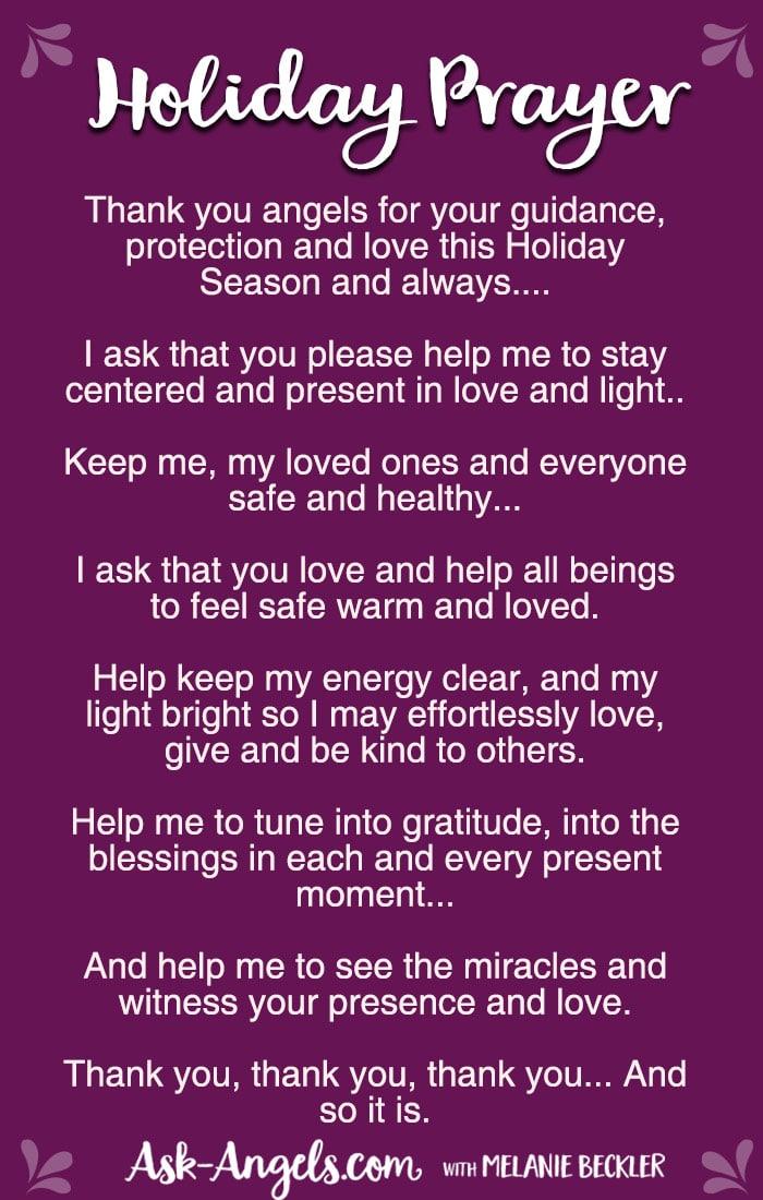 Holiday Prayer