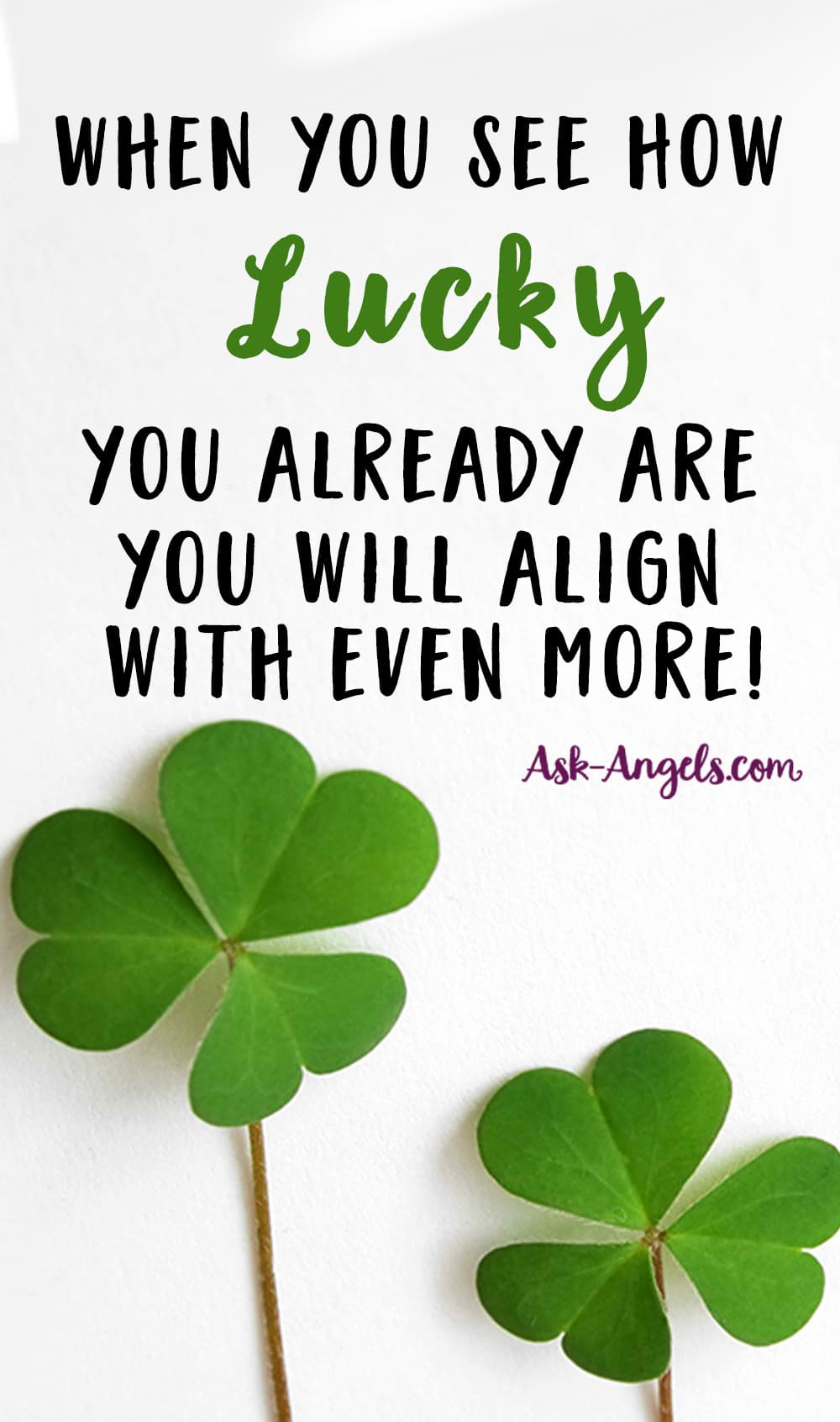 How to Attract Luck