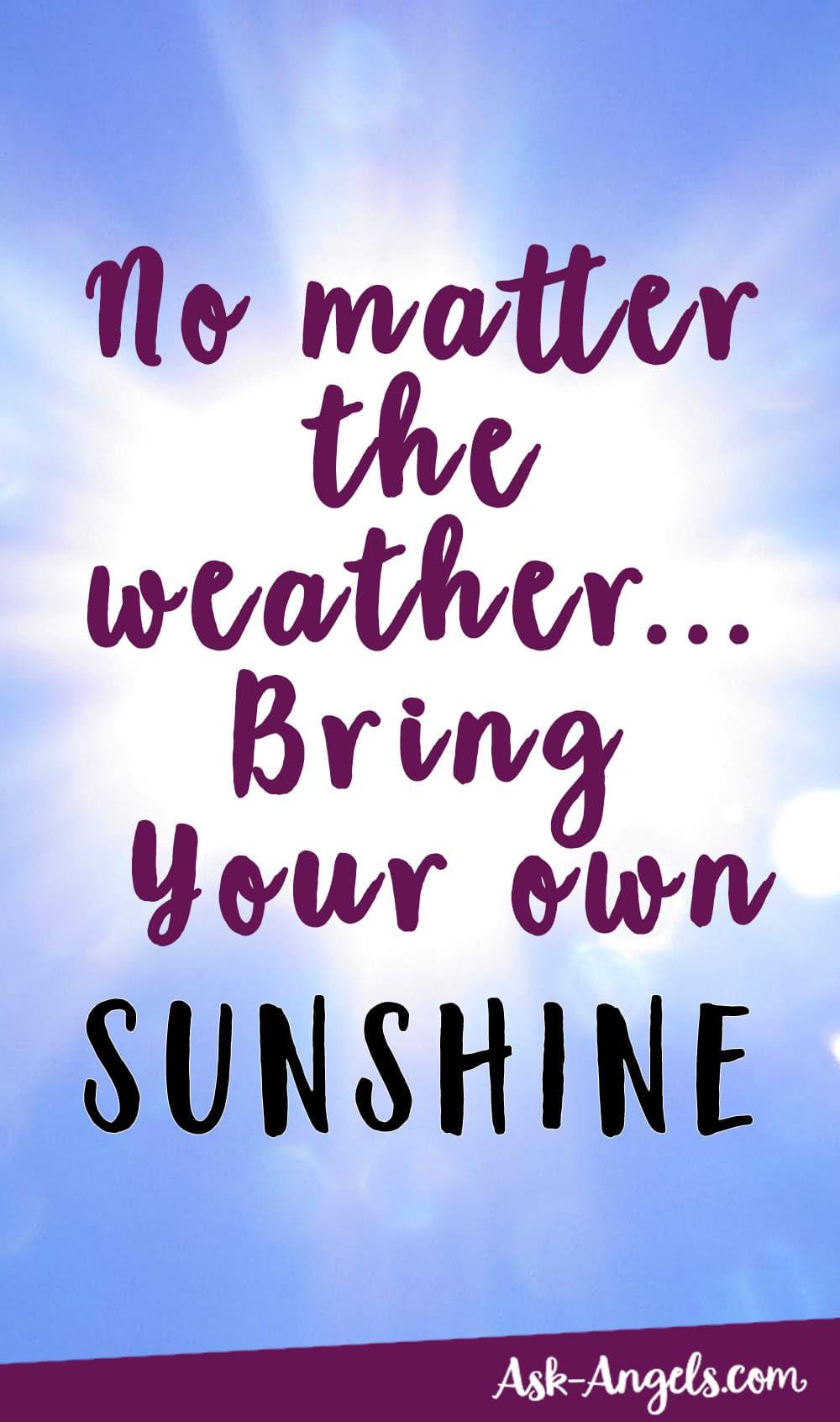 Apportez votre propre soleil