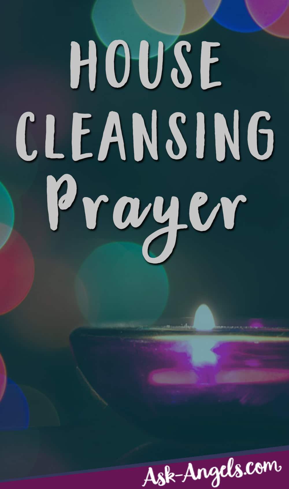 Prière de nettoyage de maison