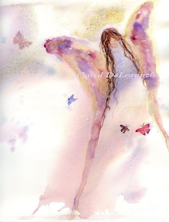 Butterfly Angel by Carol DeLorenzo