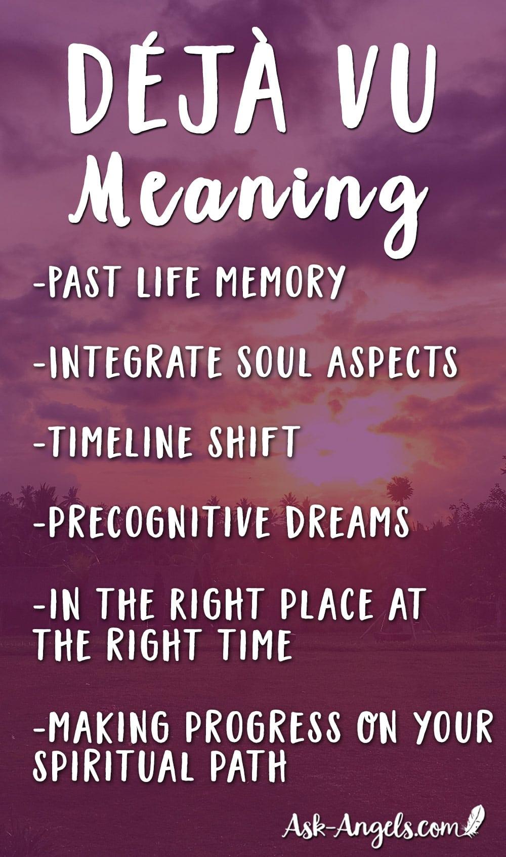 Deja Vu Meaning