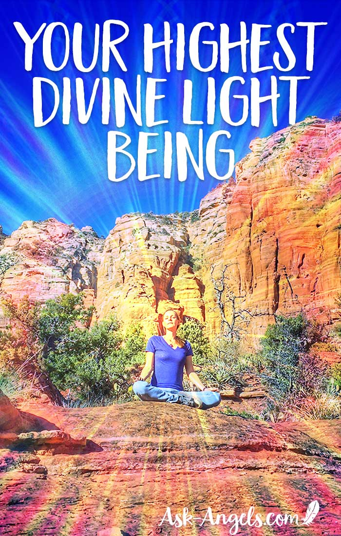 Your Highest Divine Light Being
