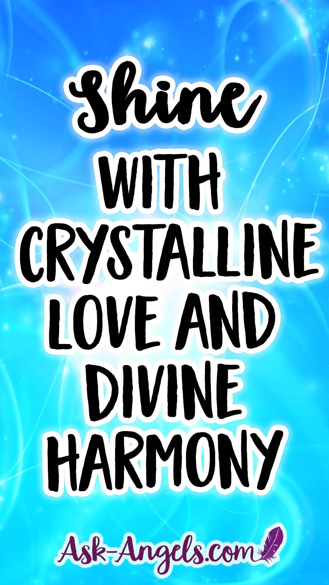 Free Archangel Micahel Clearing to support you in shining with crystalline love and Divine harmony.