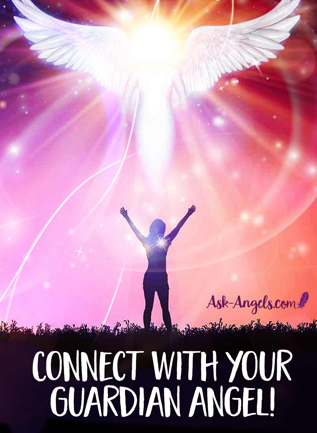 You can connect with your guardian angel! Learn how here!