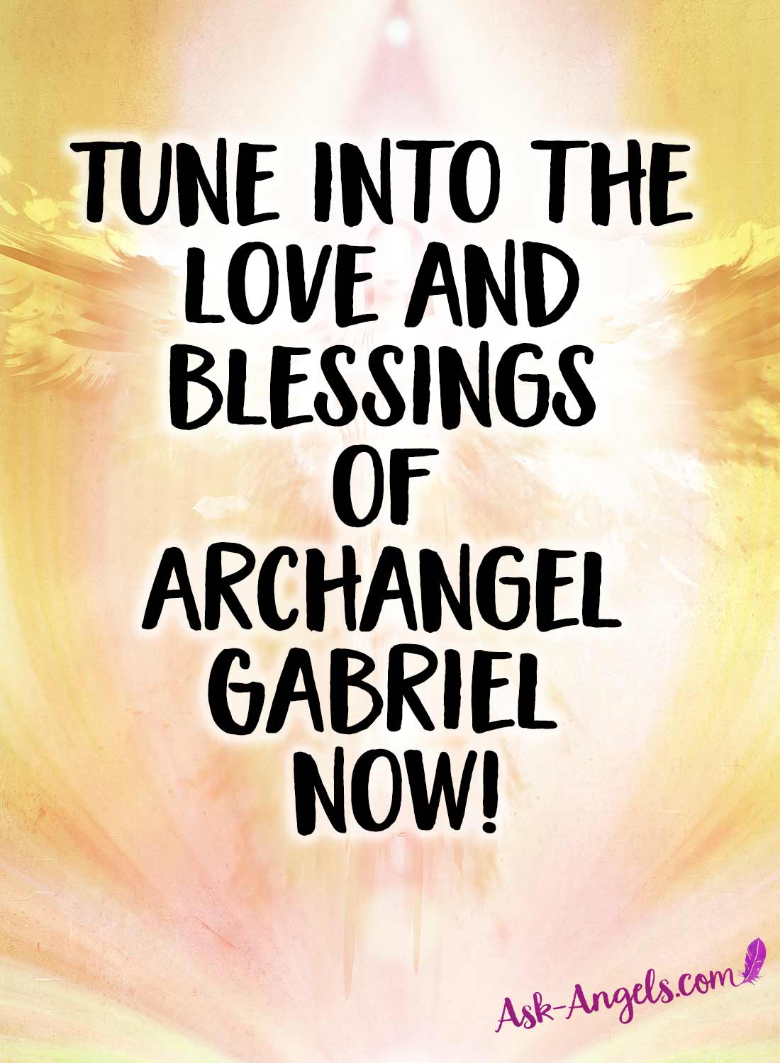 Tune into the love and blessings of the archangel of strength and communication.