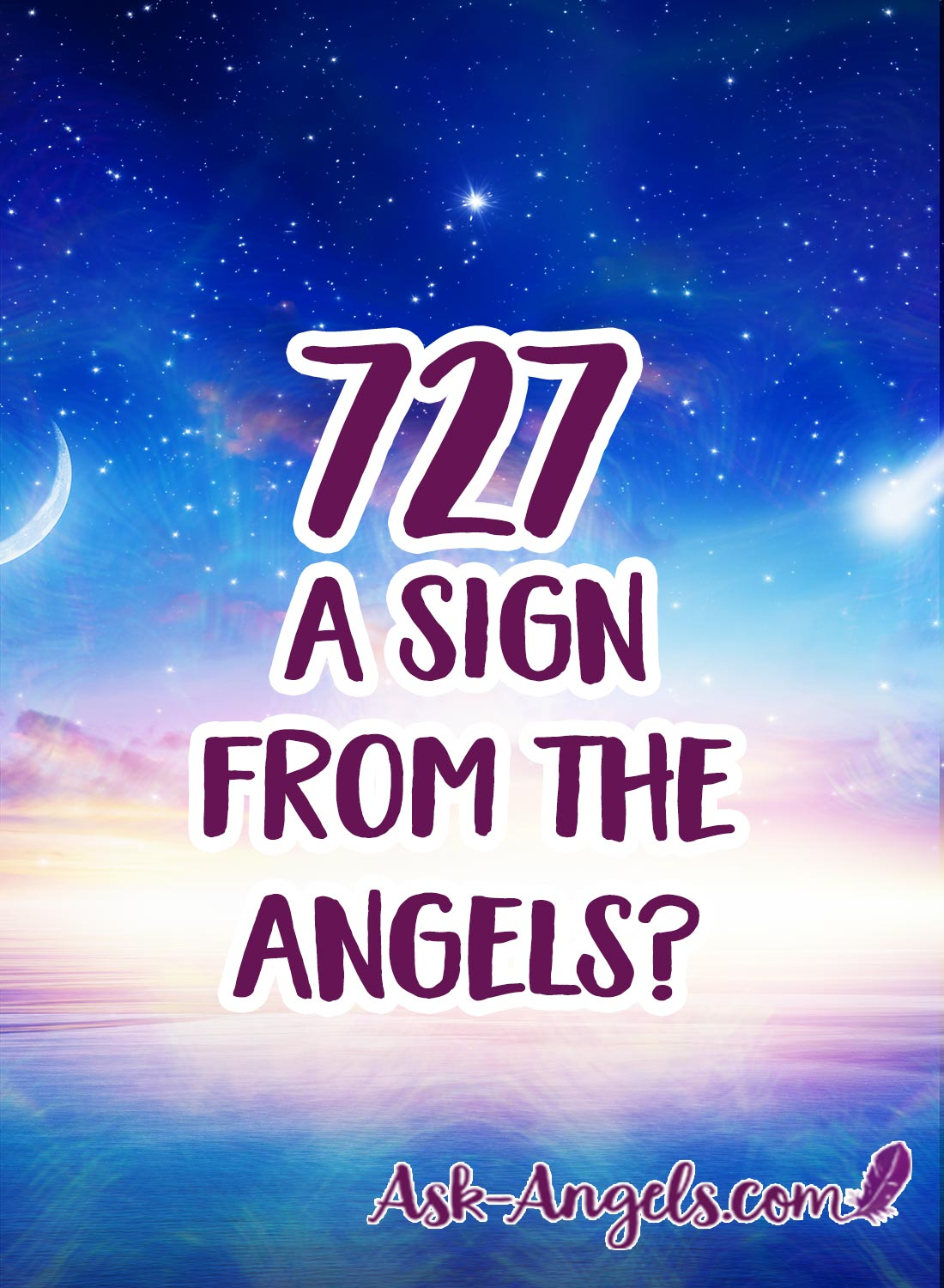 727 A Sign From The Angels?