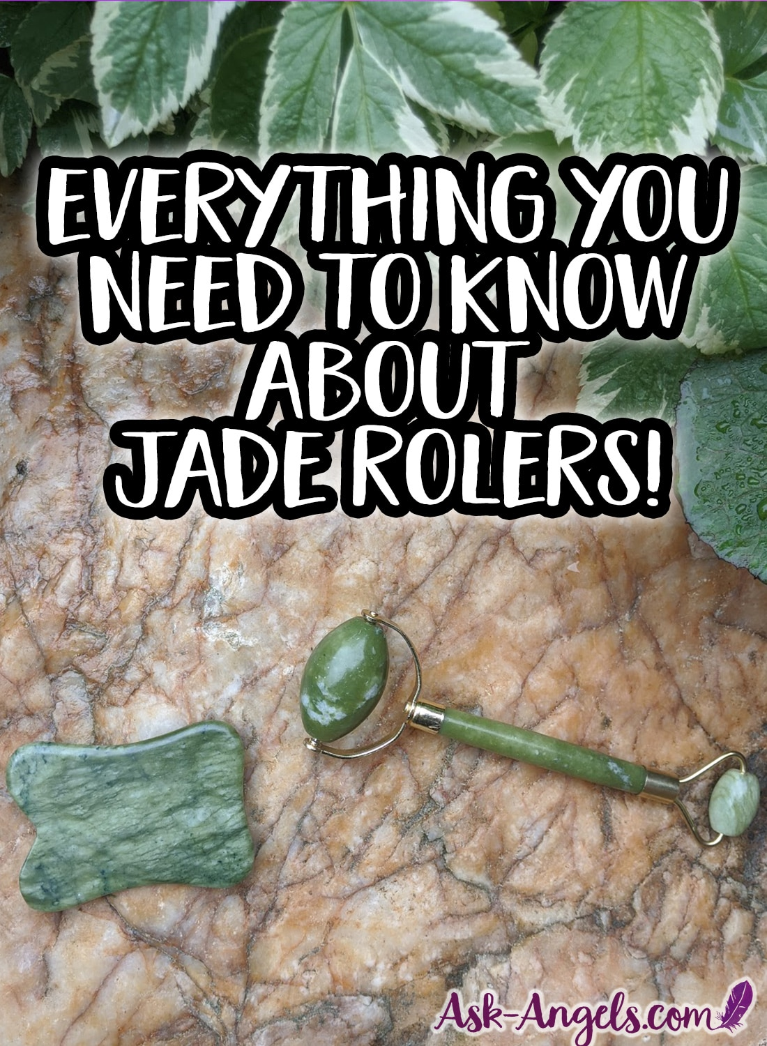 Everything you need to know about real jade rollers.