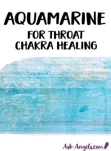 Aquamarine - Throat Chakra Crystal